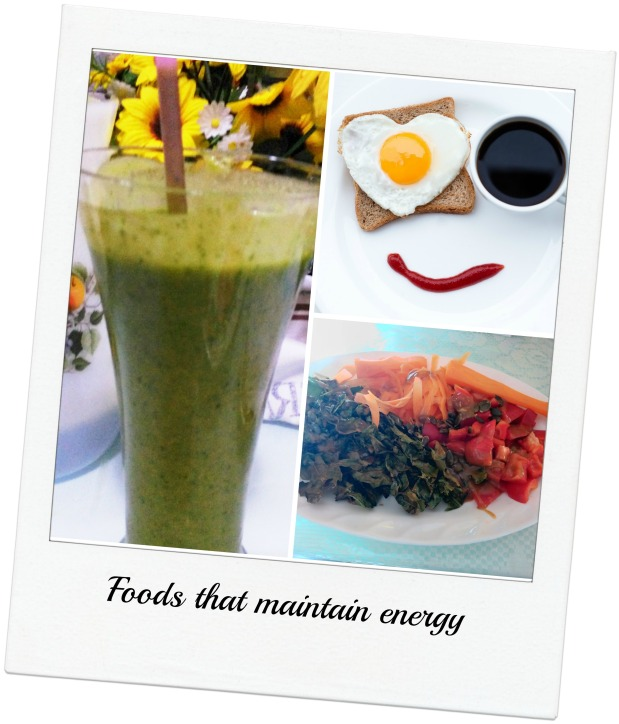FoodsThatMaintainEnergy